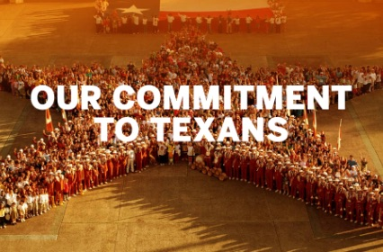 Our commitment to Texans