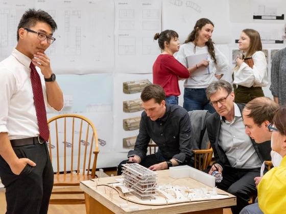 UT architecture students