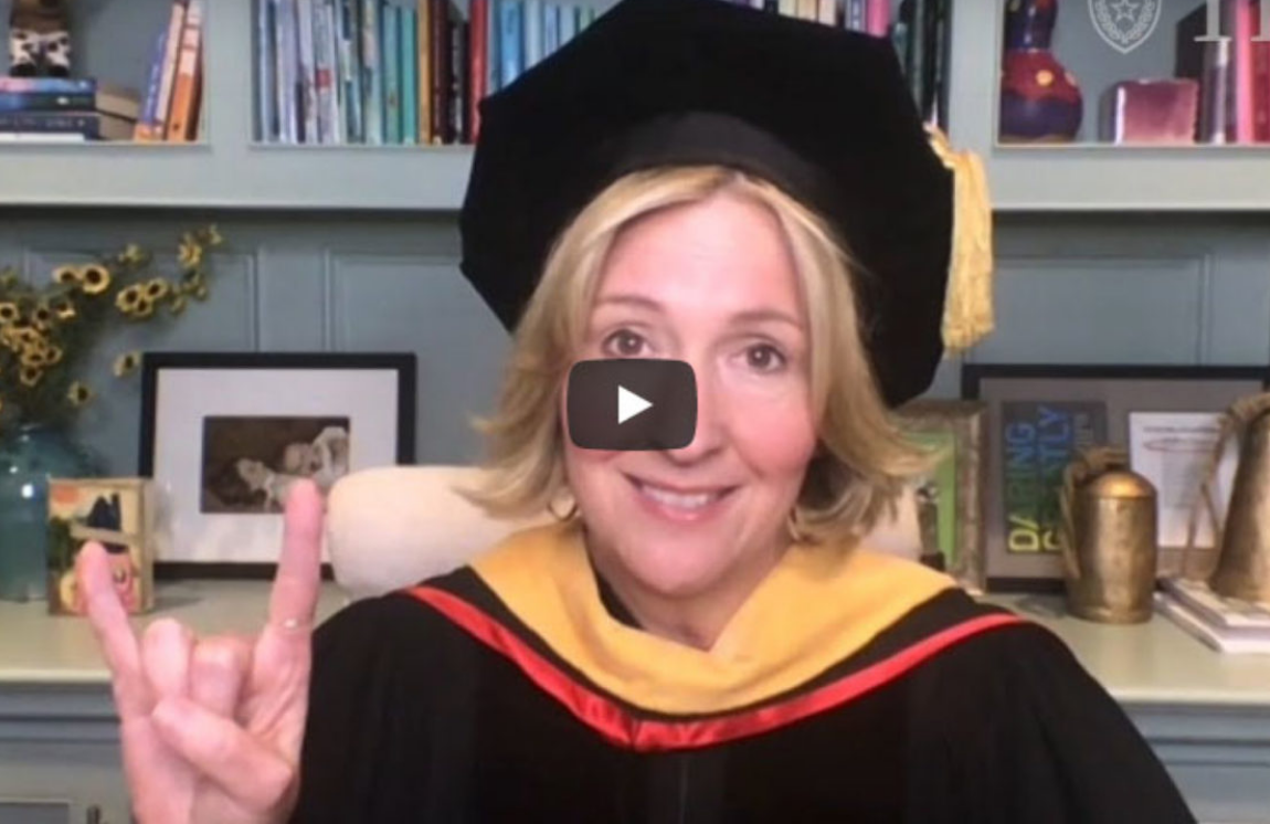 Brené Brown 2020 UT Commencement speaker