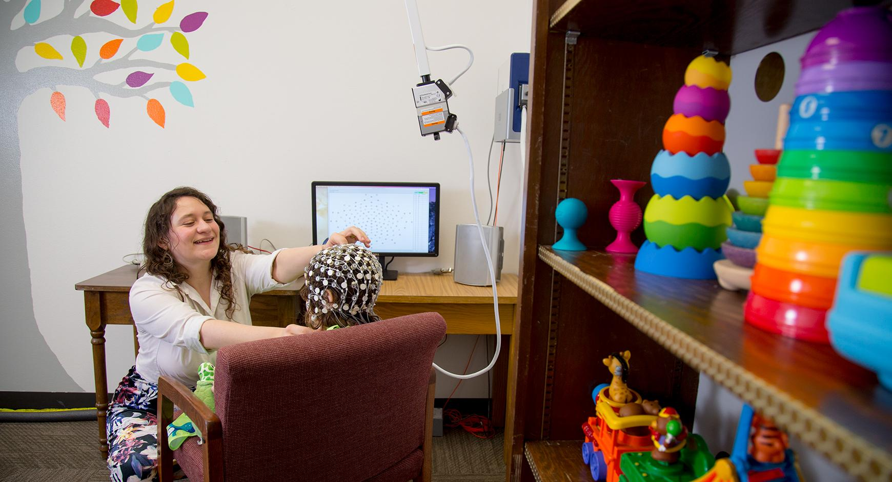 Brain and Language Lab in the Department of Special Education