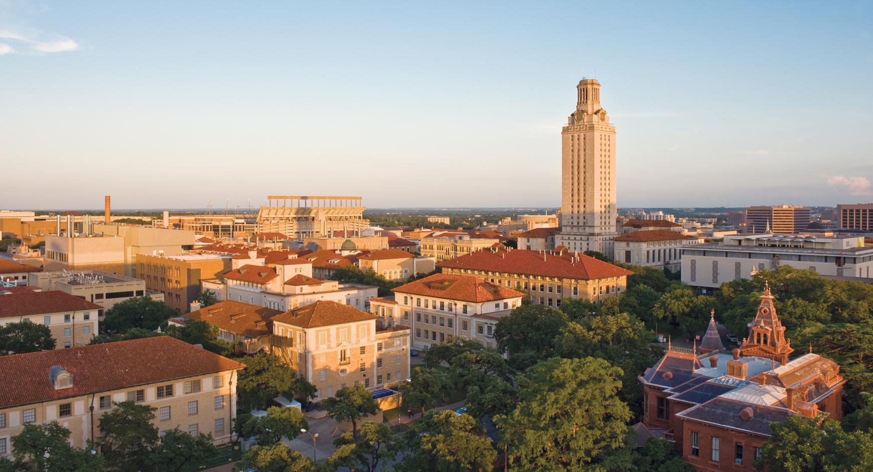 UT Austin's main campus