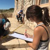 Historical preservation fieldwork