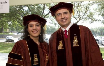 LBJ Ph.D. graduates.